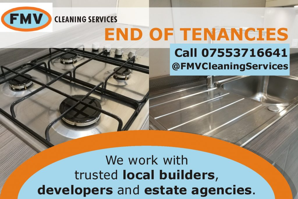 FMV Cleaning Services in Reigate - end of tenancies